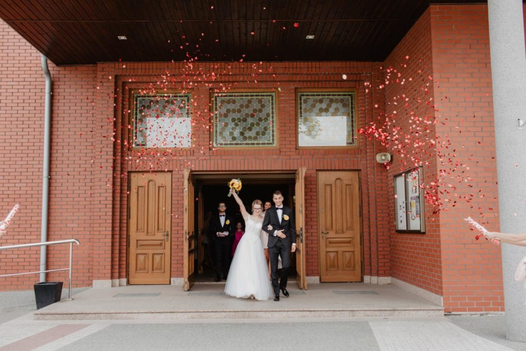 romantyczny ślub | Restauracja wodnik | Nani Studio